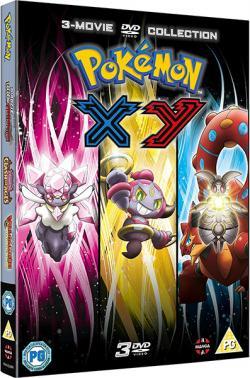 Pokémon The Movie Collection 17-19