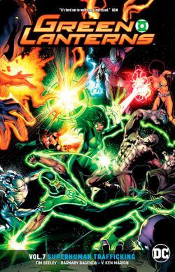 Green Lanterns Vol 7: Superhuman Trafficking