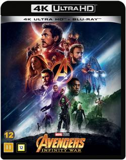 Avengers 3: Infinity War (4K Ultra HD+Blu-ray)