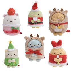 Sumikkogurashi Collection Tenori Plush Christmas Ver.