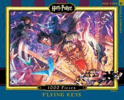Harry Potter Puzzle 1000 pcs: Flying Keys