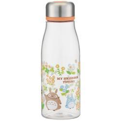Totoro water bottle 500 ml clear