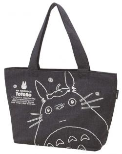 Totoro tote bag denim