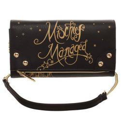 Harry Potter 2 in 1 Crossbody / Clutch Mischief Managed