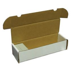 Cardbox / Fold-out Box for Storage of 1000 Cards