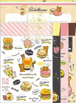 Rilakkuma Letter Set: Spending a delicious time with you