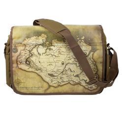 Elder Scrolls V Skyrim Messenger Bag Map