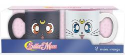 Sailor Moon Luna & Artemis Mini-Mug Set