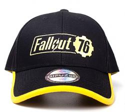 Fallout 76 Baseball Cap Yellow Logo