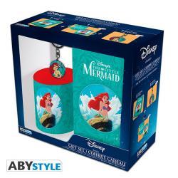 The Little Mermaid Gift Box: Mug, Notebook & Keychain