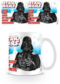 Star Wars Darth Vader Holiday Spirit Xmas Mug