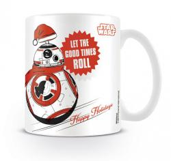 Star Wars BB8 Let the Good Times Roll Xmas Mug