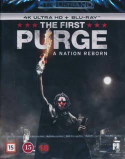The First Purge (4K Ultra HD+Blu-ray)