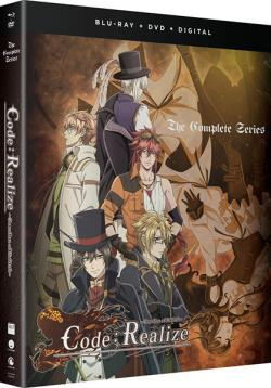 Code Realize Guardian of Rebirth Complete Series +DVD