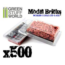 Model Bricks - Red x500
