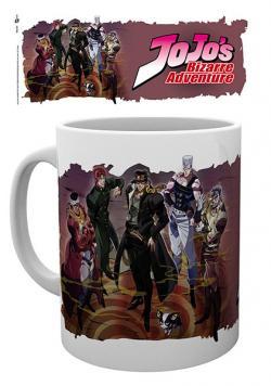 Jojo's Bizarre Adventure Mug Group