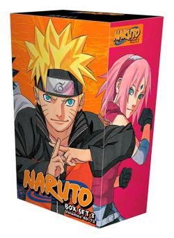 Naruto Box Set 3: Vol 49-72
