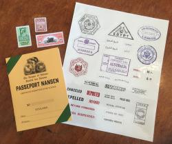 Nansen passport for role playing games (for Masks of Nyarlathotep)