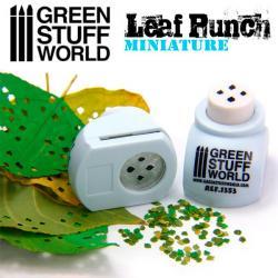 Miniature Leaf Punch Very LIGHT BLUE