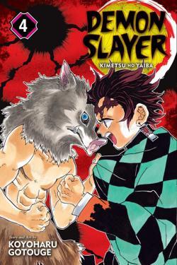Demon Slayer Kimetsu no Yaiba Vol 4