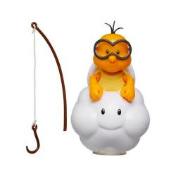 Super Mario Lakitu with Fishing Pole Figure (World of Nintendo)