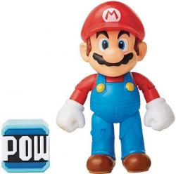 Super Mario Chibi Mario with Brick Figure (World of Nintendo)
