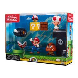 Super Mario 5-Pack Acorn Plains Figures (World of Nintendo)