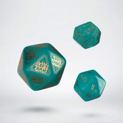 RuneQuest RPG - Turquoise & Gold Expansion Dice