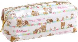 Rilakkuma Pen Case: Rabbits in the Flower Forest