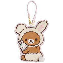 Rilakkuma Travel Card Holder: Rabbits in the Flower Forest