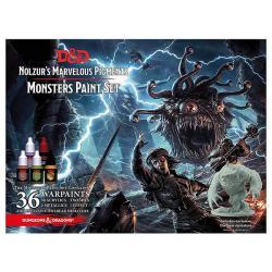 Monsters Paint Set