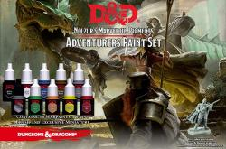 Adventurers paint set