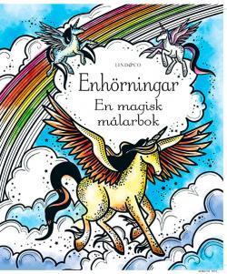 Enhörningar: en magisk målarbok