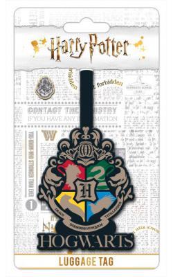 Harry Potter Hogwarts Crest Luggage Tag