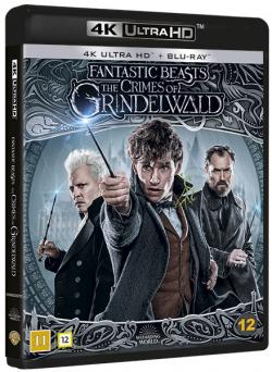 Fantastiska vidunder: Grindelwalds brott (4K Ultra HD+Blu-ray)