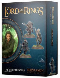 The Three Hunters (Aragorn, Legolas & Gimli)