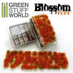 Tufts Blossom - 6mm self-adhesive - ORANGE Flowers