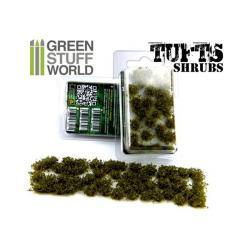 Tufts Shrubs - 6mm self-adhesive - DARK GREEN