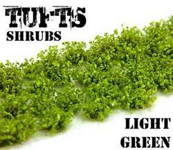 Tufts Shrubs - 6mm self-adhesive - LIGHT GREEN