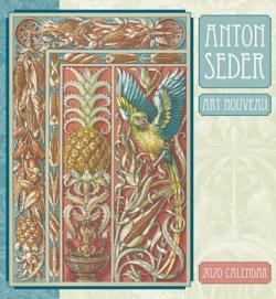 Anton Seder: Art Nouveau 2020 Wall Calendar