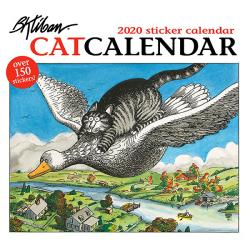CatCalendar 2020 Sticker Calendar