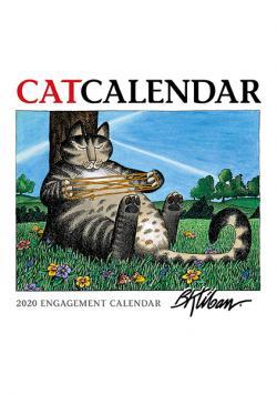 Kliban's Cat Engagement Calendar 2020