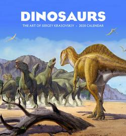 Dinosaurs: The Art of Sergey Krasnovskiy 2020 Wall Calendar