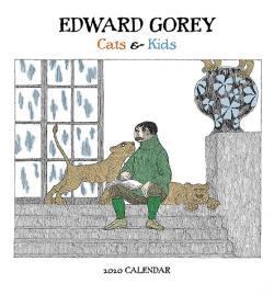 Edward Gorey: Cats & Kids 2020 Mini Wall Calendar