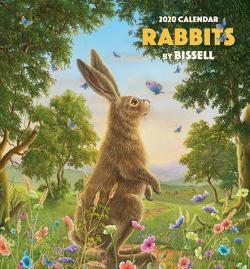 Robert Bissell Rabbits 2020 Mini Wall Calendar