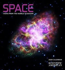 Space - Views from the Hubble Telescope 2020 Mini Calendar