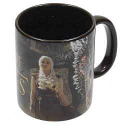 Game of Thrones Mug Dragon & Daenerys