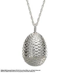 Game of Thrones Pendant & Necklace Dragon Egg Sterling Silver