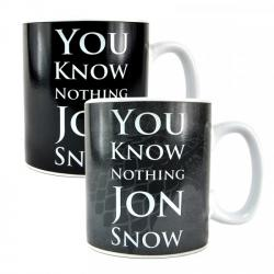 Game of Thrones You Know Nothing Heat Changing Mug