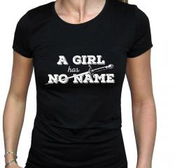 Game Of Thrones A Girl Has No Name Ladies T-Shirt